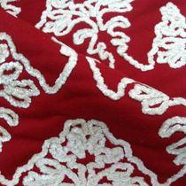 Tela de tapicería / con motivos / bordada