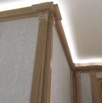Panel decorativo de bambú / de pared / a medida