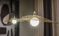 Lámpara suspendida / clásica / de metal / de interior