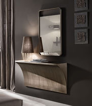Espejo de pared / moderno / rectangular / de aluminio