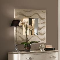 Espejo de pared / moderno / cuadrado / plateado