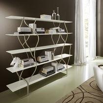 Estantería de diseño original / de madera / de metal