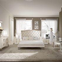 Cama estándar / doble / de diseño nuevo barroco / de madera maciza