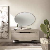 Espejo de pared / suspendido / moderno / ovalado