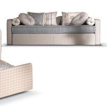 Sofá clásico / de tejido / con cama nido / multicolor