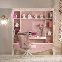 Biblioteca de estilo / de madera / para niña
