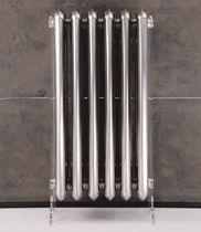 Radiador de agua caliente / horizontal / metal / de pared