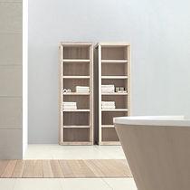 Estantería moderna / de fresno / para baño