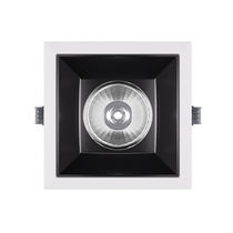 Downlight empotrable / LED / cuadrado / regulable
