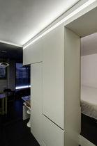 Perfil de iluminación empotrable / de techo / LED / sistema de iluminación modular