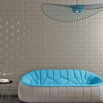Baldosa de suelo / de gres porcelánico / color liso / 3D