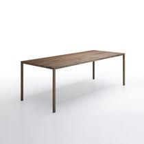 Mesa moderna / de roble / rectangular / cuadrada