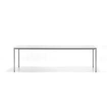 Mesa moderna / de aluminio / de material laminado / rectangular