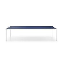 Mesa moderna / de vidrio templado / de aluminio / de cerámica