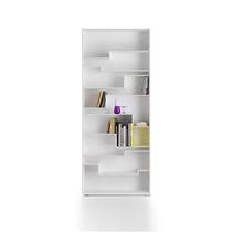 Biblioteca modular / moderna / de MDF lacado / de melamina
