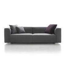 Sofá modular / moderno / de tejido / 2 plazas