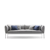 Sofá moderno / de tejido / contract / de Jean-Marie Massaud