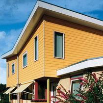 Revestimiento de fachada de material compuesto / ranurado / de panel