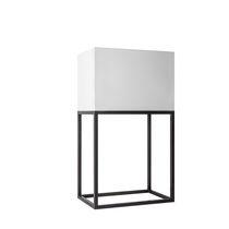 Lámpara de mesa / clásica / de latón / de algodón