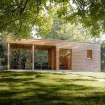 Sauna prefabricada / para exterior