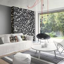 Revestimiento de pared de papel / para uso residencial / texturado / aspecto mosaico