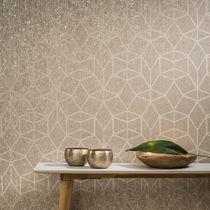 Papeles pintados modernos / de textil no tejido / con motivos geométricos / impresos