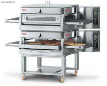 Horno de gas / para uso profesional / para pizzas / doble