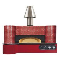 Horno de gas / para uso profesional / para pizzas