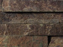 Baldosa de exterior / de pared / de piedra natural / de pizarra