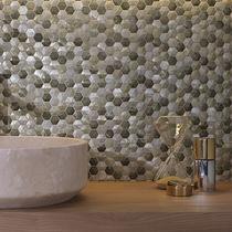 Mosaico de interior / de pared / de metal / mate