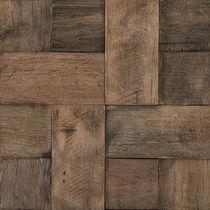 Mosaico de interior / de pared / de madera / 3D