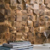 Mosaico de interior / de pared / de madera / texturado