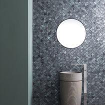 Mosaico de interior / de pared / de vidrio / con motivos geométricos