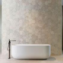 Baldosa de interior / de pared / de piedra calcárea / de color liso