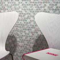 Mosaico de interior / de pared / de material compuesto / texturado