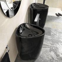 Lavabo de pie / otras formas / de cerámica / moderno