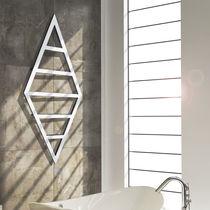 Radiador toallero de agua caliente / de acero / de acero inoxidable / cromado