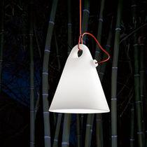 Lámpara suspendida / de diseño original / de polietileno / de exterior