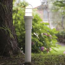 Bolardo de iluminación para jardín / moderno
