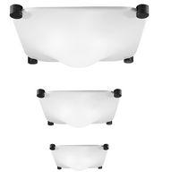 Plafón de diseño original / cuadrado / de metacrilato / LED