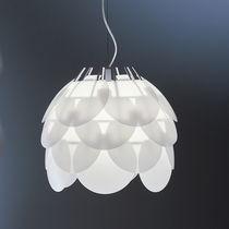Lámpara suspendida / de diseño original / de policarbonato / de interior