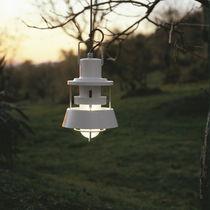Lámpara suspendida / de estilo industrial / de vidrio / para exterior