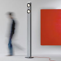 Lámpara de pie / moderna / de aluminio / de interior