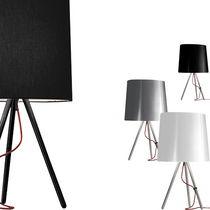 Lámpara de mesa / de diseño original / de tela / de interior