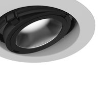 Downlight empotrable / LED / redondo
