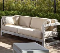 Sofá moderno / de jardín / de Textilene® / de aluminio