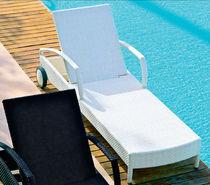 Chaise longue moderna / de fibras sintéticas / de interior / de jardín