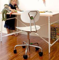 Silla de oficina moderna / de metal / ajustable / para niños