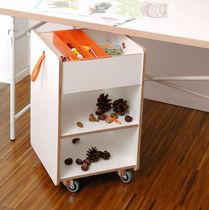 Mesa carrito de servicio / de oficina / de madera