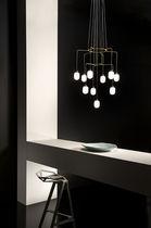 Lámpara araña moderna / de vidrio / LED / halógena